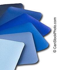 Blue Tone Leatherette color sample