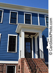 Blue Townhome