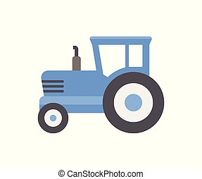 Blue Tractor icon