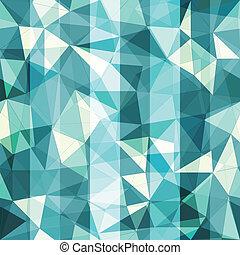 blue triangle seamless pattern