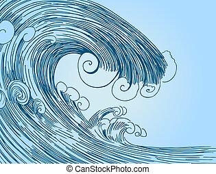 Blue Tsunami