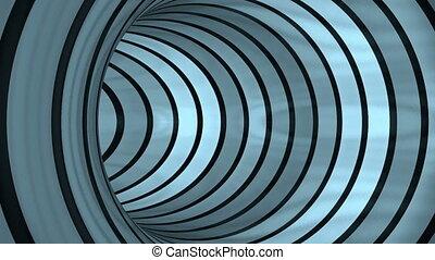 Blue Tunnel flight, loop
