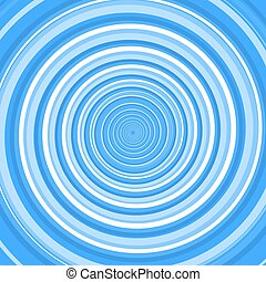 Blue Twirl Spiral. Abstract Background. Vector