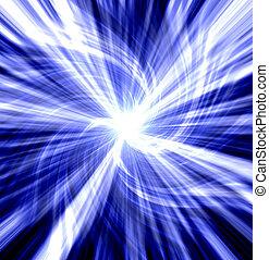 blue twisted blast