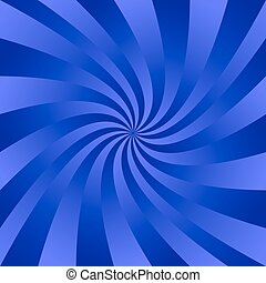 Blue twisted ray pattern background