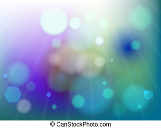 blue unfocused background, abstract vector art illustration