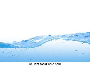 blue víz, lenget