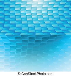 Blue vector abstract