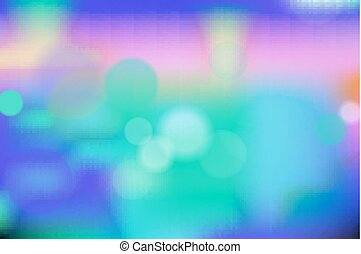 blue vector bokeh background