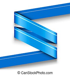 Blue vector infographics design isolated on white without sample texts.