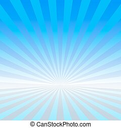 Blue vector rays