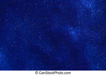 Blue velvet fabric background texture