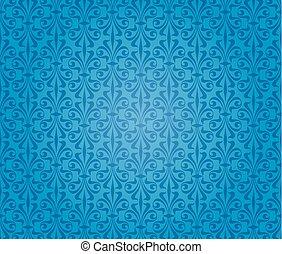 blue vintage background wallpaper design
