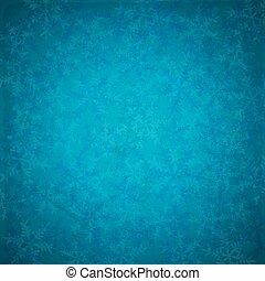 Blue vintage Christmas background