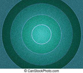 Blue Vintage Circles Background