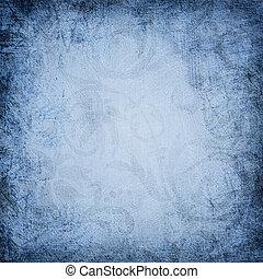 blue vintage  floral background