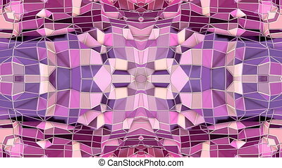 blue violet low poly geometric abstract background as a...