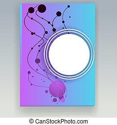 Blue violet mesh background,