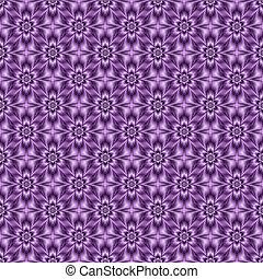 Blue-violet Tiled Flower