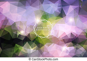 Blue vivid abstract background