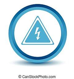 Blue voltage icon