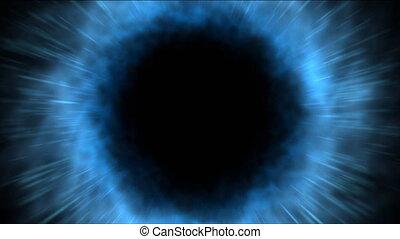 Blue vortex, Loopable