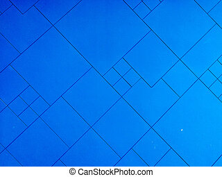 Blue wall background texture.