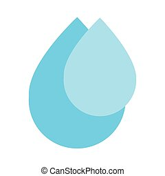 blue water drops icon
