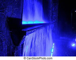 water - blue water
