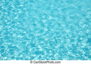 Blue Water wave patttern - Blue water wave pattern of a ...