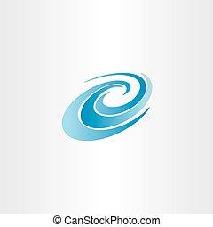 blue water wave vector element