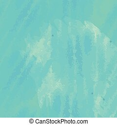 Blue watercolor background, vector seamless pattern