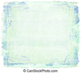 Blue watercolor on canvas backgroung with text space