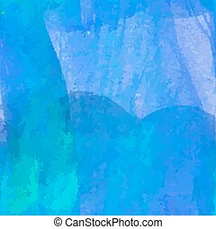 blue watercolor painting seamless