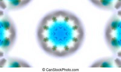 blue watercolor style fancy - blue rotation flower...