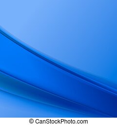 Blue wave abstract. .