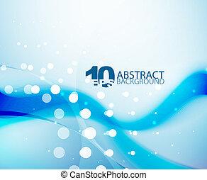 Blue wave background