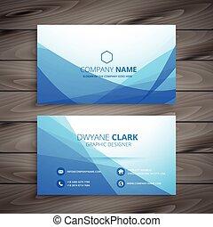 blue wave business card