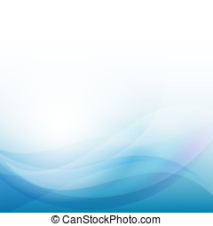 Blue wave business template