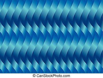 blue wave geometry seamless pattern
