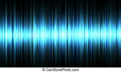 Blue waveform background (seamless loop)