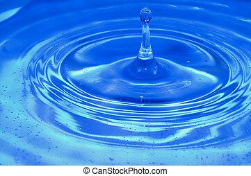 Splash drop water