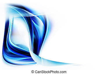 blue wavy motion