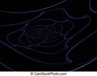 Blue web