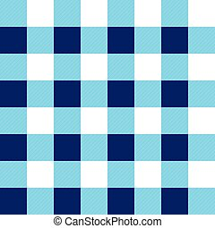 Blue White Chessboard Background