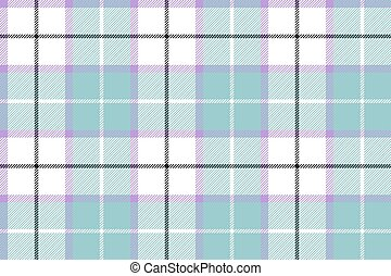 Blue white tartan plaid baby color seamless background