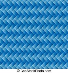 Blue Wicker Background