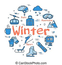 Blue WINTER concept