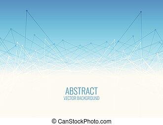 blue wire mesh background design