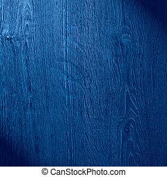 blue wood background or oak furniture texture